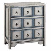Shop for Stein World Adley Chest, and other Living Room Chests and Dressers at Stein World in Memphis, TN. A Polar White & Smokey Blue finish makes the three-drawer Adley chest as fashionable as it is functional. Chest Of Drawers, Decor, Stein World, Drawers, Furniture, Accent Chest, 3 Drawer Chest, Accent Doors, Living Room Furniture