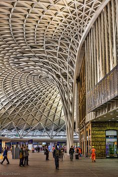 Kings Cross Station, London. ** Wow, this has certainly changed since I last saw it!