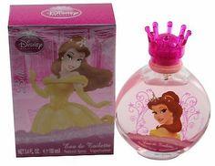 Belle By Disney Princess 3.4/3.3 Oz Edt Spray For Kid's New In Box