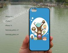 OwlThe owl familyiPhone 5s caseiPhone 5c by lovesbracelet on Etsy, $8.99