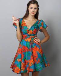 Image result for crazy pattern dresses