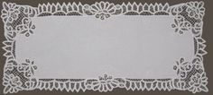 Battenburg Lace White Table Runners