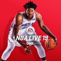 275f9106f Joel Embiid is the cover athlete for NBA Live 19. Are you getting it