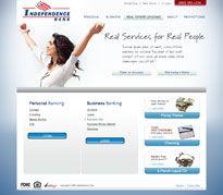 Independence Bank #web #website #webdesign