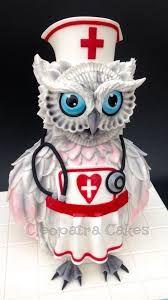 Výsledek obrázku pro owl cake