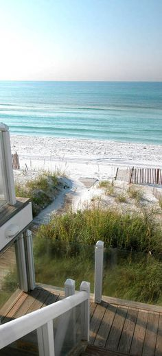 beach house view. Forget a Pinterest closet! I'll take this view any day!!