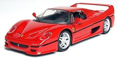 Maisto AL Ferrari F50 by Maisto. $19.99. From the Manufacturer                1:24 Ferrari Assembly Line Model Kit.                                    Product Description                Building models is a great hobby. Not only is it fun but you can learn about real vehicles by examining the individual parts as you put them together. All Maisto Assembly Line kits are already painted and do not require any glue. The parts snap together or are attached with fasteners using the as...