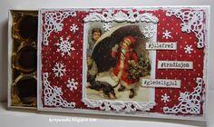 Julebidrag Xmas, Christmas, Wonderful Time, Birthdays, Scrap, Candy, Box, Frame, Decor