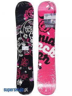 Deska snowboardowa Nidecker Angel Cmr Wmn (pink) - Największy wybór Deski snowboardowe Nidecker | Supersklep.pl