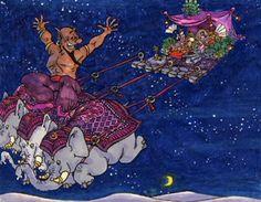 Visual Development from Aladdin