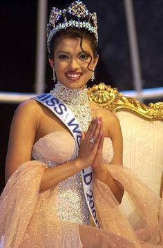 Priyanka Chopra was crowned 'Miss World 2000' just at the age of 17. Read more at blog.