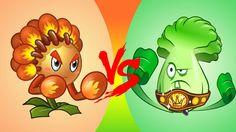 Plants vs Zombies 2 Vs: Match Flower Boxer vs Bonk Choy (Chinese Version)