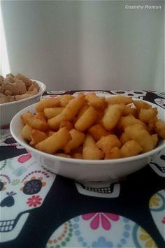 mini churros com sal e páprica