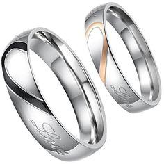 Aroncent 1 Paar Herren Damen Ringe, Edelstahl LOVE Herz P... https://www.amazon.de/dp/B01EWKM1D2/ref=cm_sw_r_pi_dp_LmpvxbMYY7P74