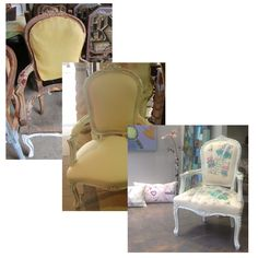 Restored armchair Furniture Restoration, Armchair, Dining Chairs, Home Decor, Sofa Chair, Single Sofa, Decoration Home, Room Decor, Restoring Furniture