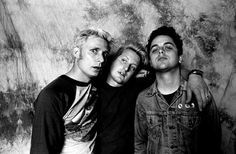 Mike, Tre, and Billie