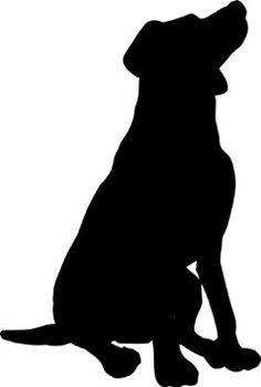 Walking Labrador Silhouette   Black Lab Silhouette Clip ...