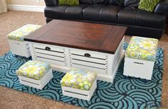 Crate-Storage-Coffee-Table-with-stools