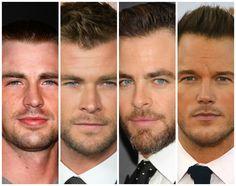 Take the quiz: which Chris is your fake boyfriend? Evans Hemsworth Pine or Pratt
