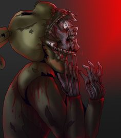 I just love all the Springtrap fanart. It's like the fandom is finally realizing this game is supposed to be horrifying