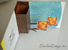 Owl Popup Card - with video tutorial