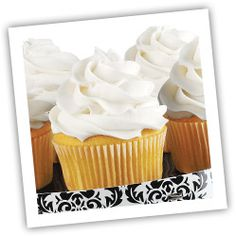 Baking Tip: Remove cupcakes from pan immediately, placing individual cupcakes on wire rack to cool.