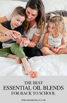 The Most Effective, Best Smelling Essential Oil Blends for Back to School!  From helping with focus, to essential oil recipes to prevent lice and keep germs at bay, and aid in homework, sleep and wake times...  were sharing all the ways to use essential oils for back to school. From Popular Florida Lifestyle blogger Tabitha Blue of Fresh Mommy Blog.