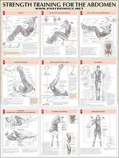 An workout strength training abs