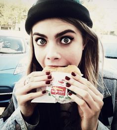 Cara Delevingne Love her eyes, bold eyebrows and her crazy but funny face expressions :D