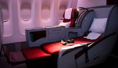 My Free Business Class Upgrade Luxury Jets, Luxury Private Jets, Plane Seats, Airplane Interior, Private Jet Interior, Dubai Vacation, Flying First Class, Aircraft Interiors, Boeing 777