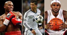 Mayweather, Cristiano Ronaldo y Lebron James, deportistas mejor pagados del mundo
