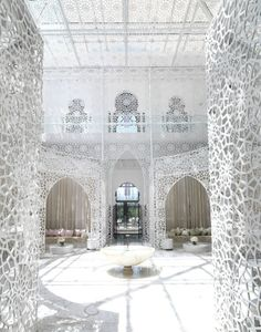 Wellness and Beauty center at Royal Mansour, Marrakesh. #Moroccan #Luxury #Spa.