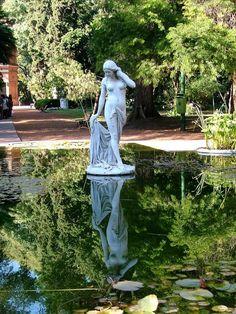 Famous Gardens, Angel Statues, Botanical Gardens, South America, Life Is Good, Garden Sculpture, Garden Design, Sculptures, Places To Visit