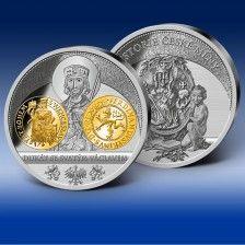 """Gigantická  ražba """"Dukát se svatým Václavem"""" Coins, Personalized Items"""