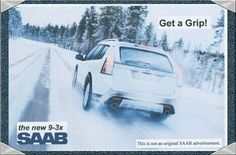 Saab Central Advertisement For The New Saab 9-3x SportCombi(this is not an original saab advertisement)
