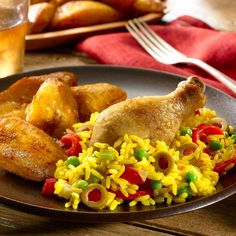 Yummy, nutritious & affordable. It's how we like it. Try this Chicken with Rice & Maduros for your next family meal.