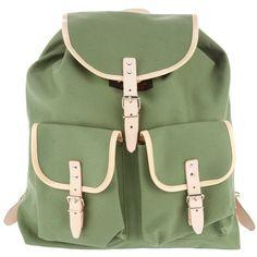 ESSL 'Austrian' rucksack ($90) ❤ liked on Polyvore