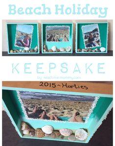 Special Beach Holiday Keepsake