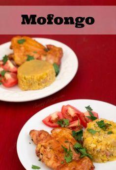 Puerto Rican Style We love mofongo! It's a simple recipe that is the perfect side dish.We love mofongo! It's a simple recipe that is the perfect side dish. Puerto Rican Cuisine, Puerto Rican Recipes, Cuban Recipes, Dinner Recipes, Spanish Recipes, Comida Latina, Recetas Puertorriqueñas, Comida Boricua, Coconut Dessert