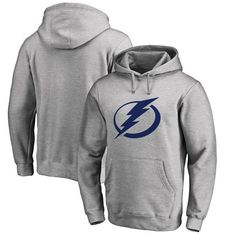 Tampa Bay Lightning Fanatics Branded Big & Tall Primary Logo Pullover Hoodie - Ash - $69.99