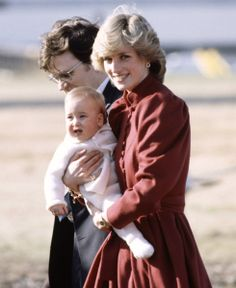 Cute shot of Princess Diana holding baby William with bodyguard in attendance.She was taken from us far to soon.Please check out my website thanks. www.photopix.co.nz