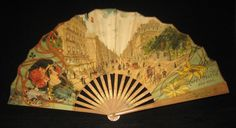 Vintage Advertising Paper Fan Cafe martin NY on Collectors Quest