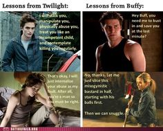 Twilight vs Buffy