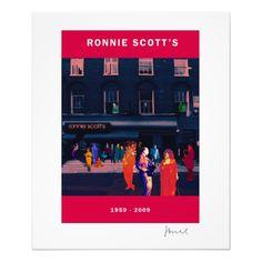 RONNIE SCOTT'S 50th ANNIVERSARY POSTER