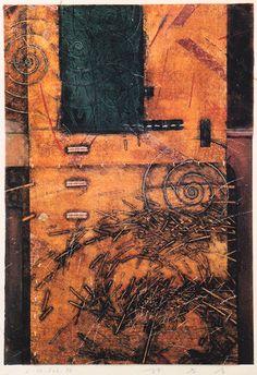 Takahiko Hayashi ~ D-13, 1996 (mixed media, pen drawing, collage)