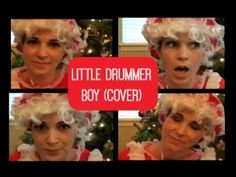 Mrs Claus Covers Little Drummer Boy - #YouTube #vlogging