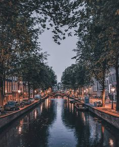 Amsterdam's more than 160 canals are perfect for riding bikes alongside — so much so that each year more than bicycles are fished… Places To Travel, Places To See, Travel Destinations, City Aesthetic, Travel Aesthetic, City Photography, Nature Photography, Amsterdam Photography, Travel Around The World