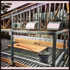 Clanmore Expansion - View from the Casa 2 classroom - March 28, 2013.