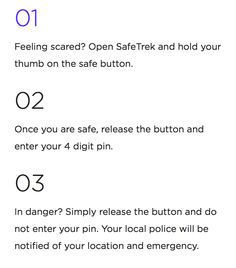 Ever feel unsafe when you're alone? SafeTrek gets you help at the tap of a button.