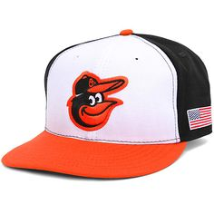 Baltimore Orioles Authentic Collection On-Field 59FIFTY Home Cap with US Flag Patch - MLB.com Shop